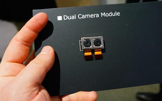 Sony продемонстрировала модуль двойной камеры с ISO 51200