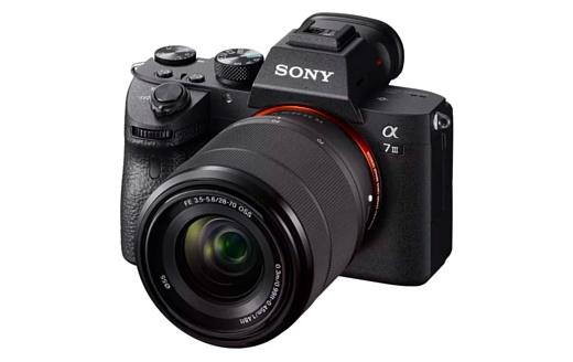 Sony анонсировала полнокадровую «беззеркалку» a7 III