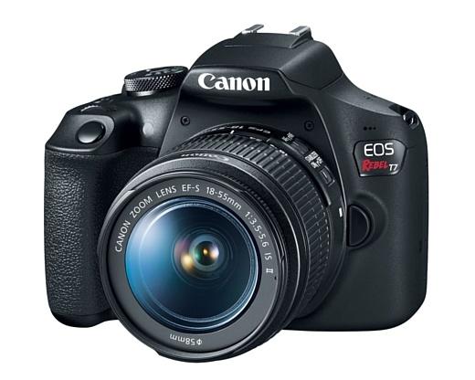 Canon показала недорогую зеркальную камеру EOS 2000D