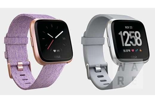 Утечка: рендеры новых часов Fitbit