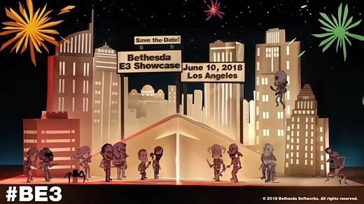 Bethesda проведет свою E3-презентацию 11 июня