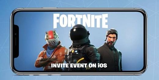 Fortnite выйдет на смартфонах и планшетах