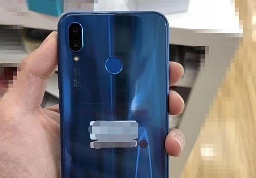 Утечка: фото синего Huawei P20 Lite