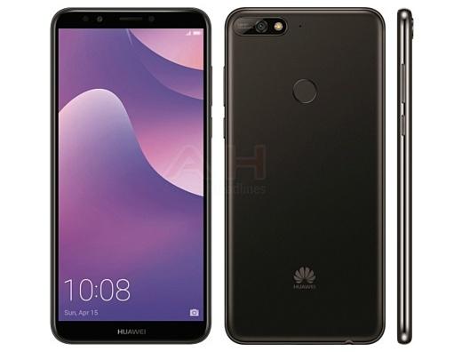 Утечка: пресс-рендер Huawei Y7 2018