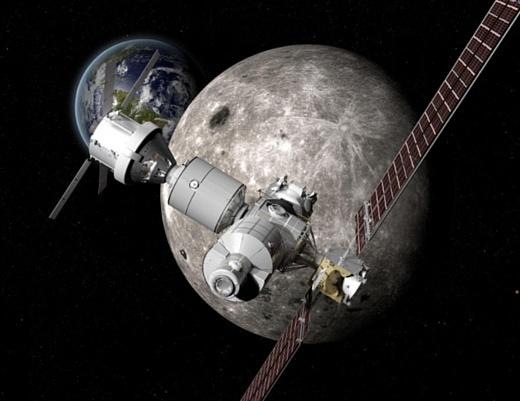 НАСА может запустить к Луне небольшую космическую станцию