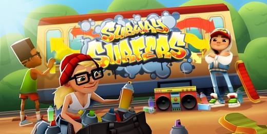 Subway Surfers стала первой игрой, достигшей отметки в 1 млрд скачиваний