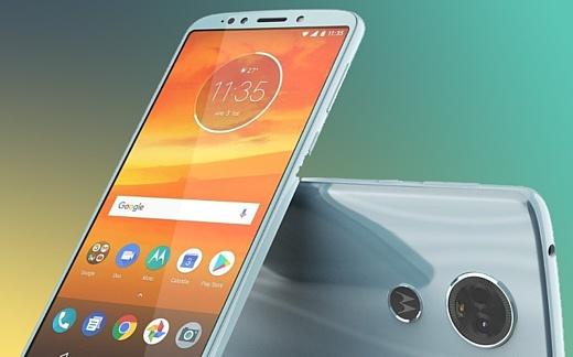 Утечка: фотографии Motorola Moto E5 Plus