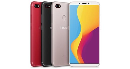 ZTE анонсировала смартфон Nubia V18