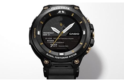 Casio показала лимитированное издание умных часов WSD-F20SC