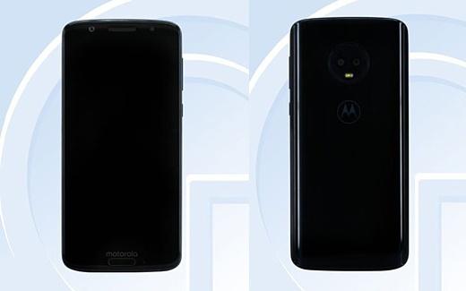 Утечка: фото и характеристики Motorola Moto G6
