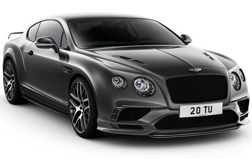Bentley начнет выпускать электромобили