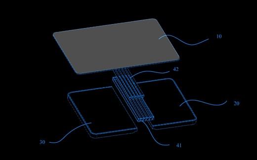 Huawei запатентовала смартфон со складным экраном