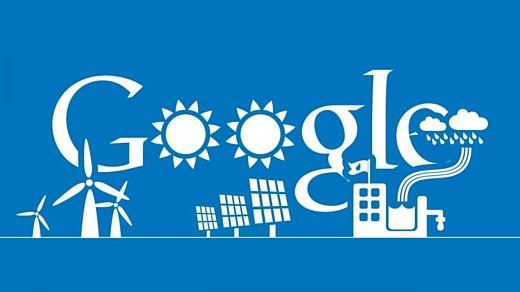 Google полностью перешла на возобновляемую энергию