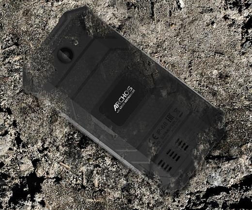 Archos представила защищенный смартфон Saphir 50X