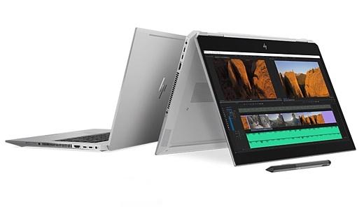 HP показала мощные ноутбуки ZBook Studio x360 с процессорами Intel Xeon