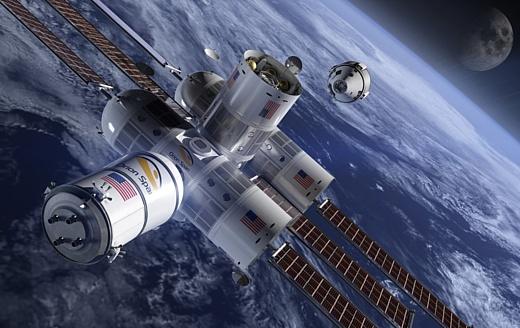 Место в космическом отеле обойдется в $9.5 млн