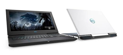 Dell представила игровые ноутбуки G3, G5 и G7