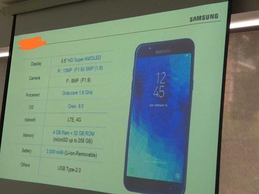 Утечка: характеристики Samsung Galaxy J7 Duo