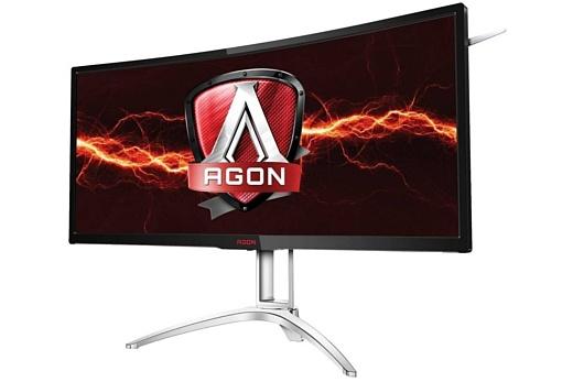 AOC представила ультраширокий монитор с поддержкой Nvidia G-Sync