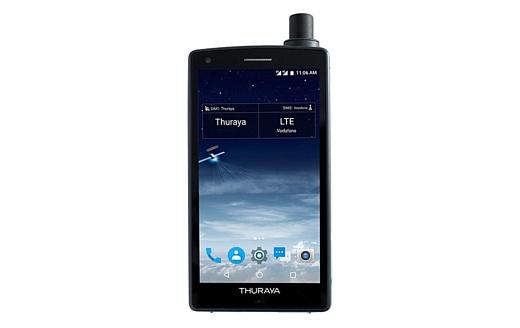 Thuraya X5-Touch — первый в мире спутниковый смартфон