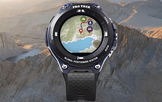 Pro Trek WSD-F20A — новые умные часы Casio для любителей отдыха под открытым небом