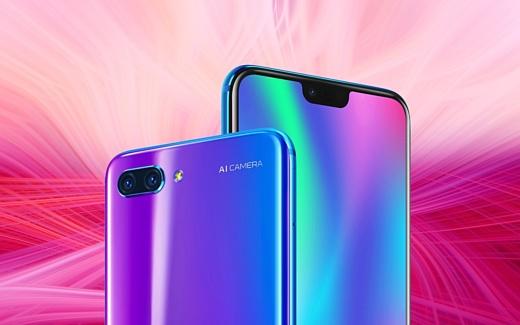 Huawei официально анонсировала смартфон Honor 10
