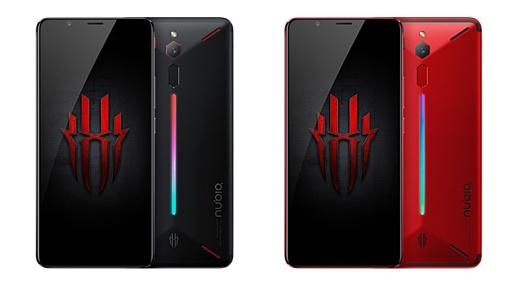 ZTE представила геймерский смартфон Nubia Red Magic