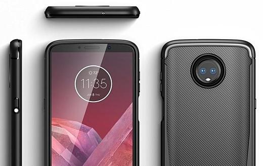 Утечка: рендеры Motorola Moto Z3 Play