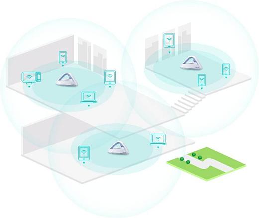 Asus анонсировала Mesh WiFi-систему Lyra Trio