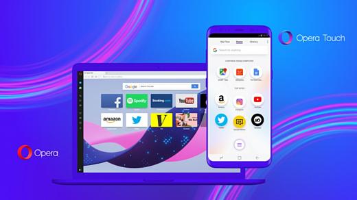Opera Touch — новый удобный браузер для смартфонов