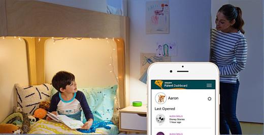 Amazon представила новые умные колонки Echo Dot Kids Edition