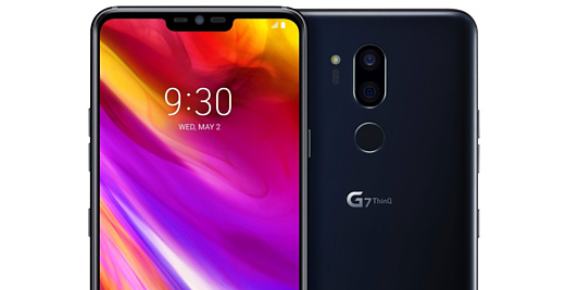 Утечка: рендер LG G7 ThinQ в черном корпусе