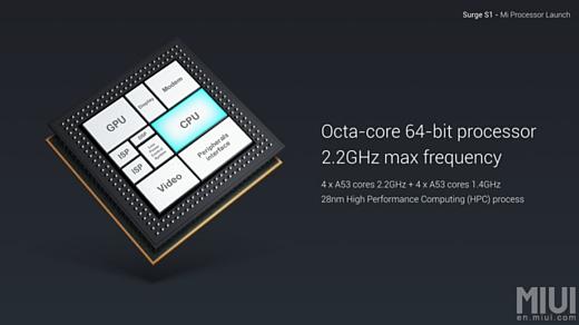 Слух: Xiaomi и TSMC работают над чипом Surge S2