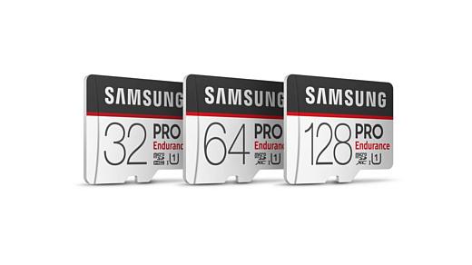 Samsung представила новые microSD-карты PRO Endurance