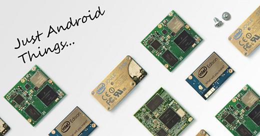 Google выпустила систему Android Things 1.0