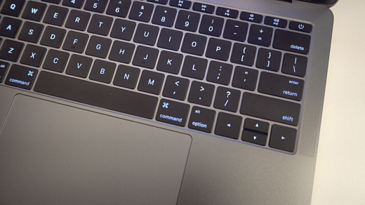 Против Apple подали иск из-за клавиатур MacBook Pro 2016 года