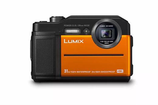 Panasonic выпустила защищенную камеру Lumix TS7