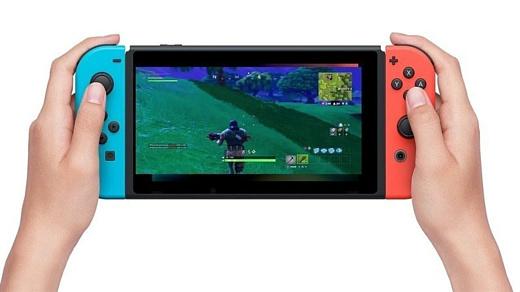 Слух: Fortnite собираются выпустить на Nintendo Switch