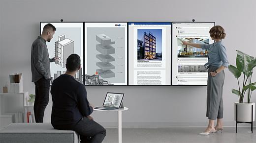 Microsoft показала Surface Hub 2