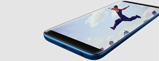 Samsung анонсировала смартфон Galaxy J8