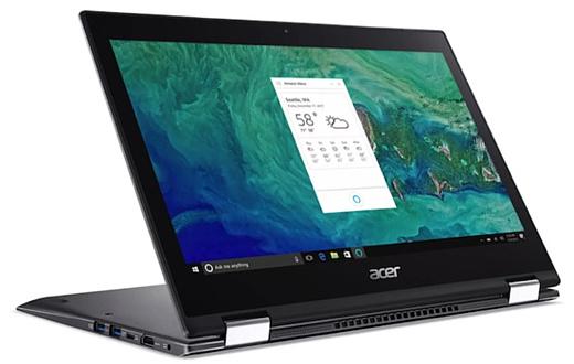 Acer показала новые ноутбуки Aspire и Spin