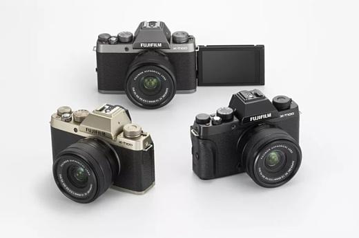 Fujifilm анонсировала беззеркальную камеру X-T100