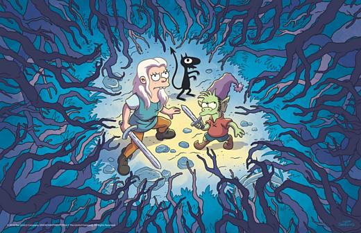 Новый мультсериал Мэтта Гроунинга выйдет на Netflix 17 августа
