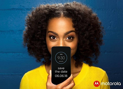 Motorola Moto Z3 Play представят 6 июня