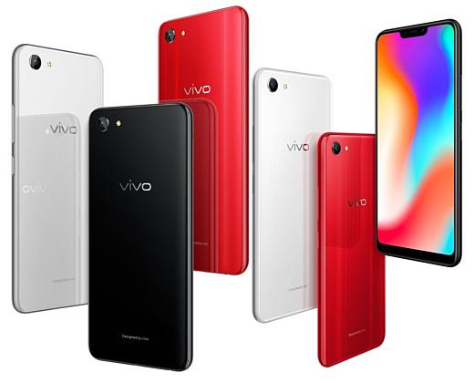 Vivo представила среднебюджетный мобильник под названием Y83