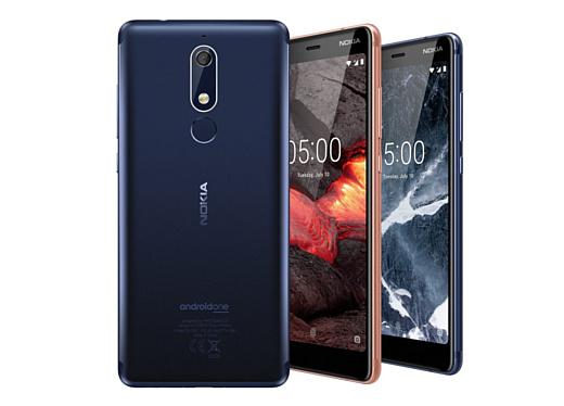 HMD анонсировала смартфоны Nokia 5.1, Nokia 3.1 и Nokia 2.1