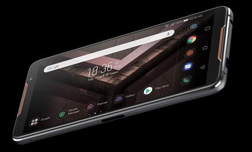 Asus показала геймерский смартфон ROG Phone