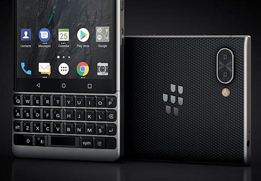В сеть попал пресс-рендер BlackBerry Key2