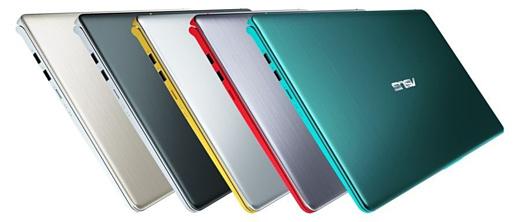 Asus представила ноутбуки VivoBook S