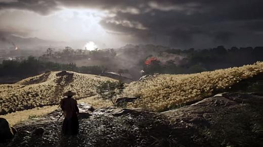 На E3 2018 показали геймплей Ghost of Tsushima для PlayStation 4